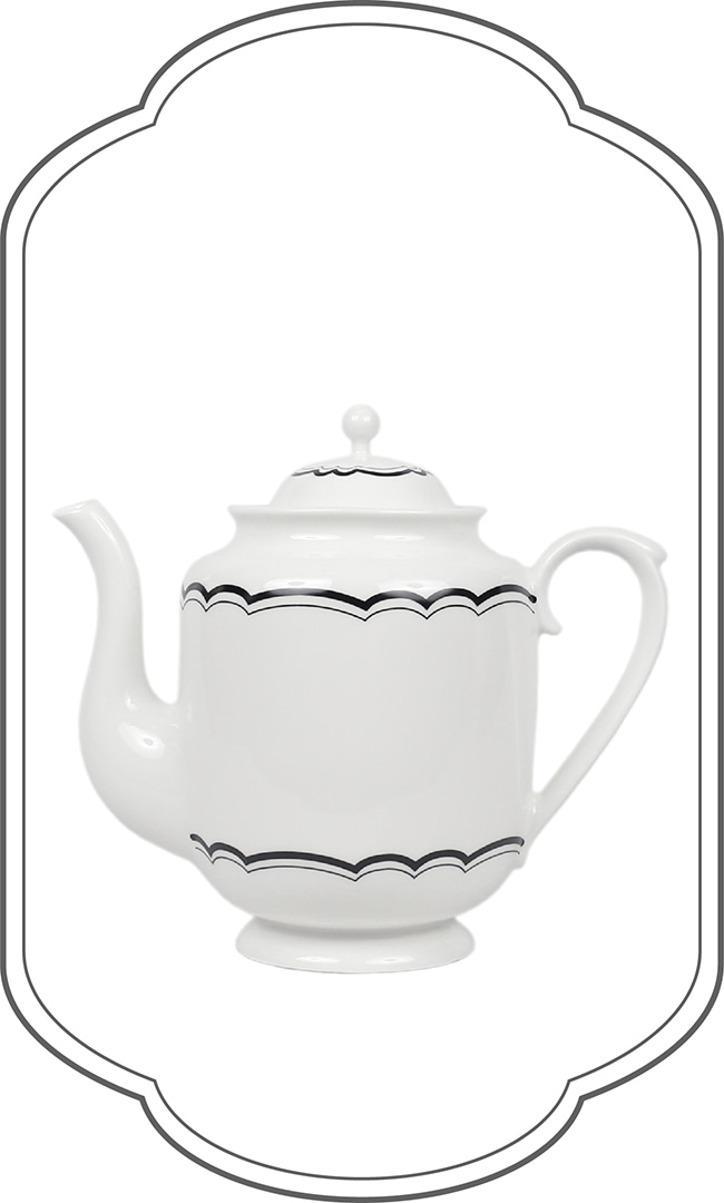 London line Lace Teapot