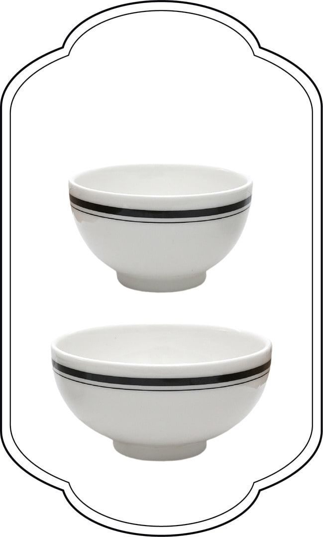 London line Modern Bowl set