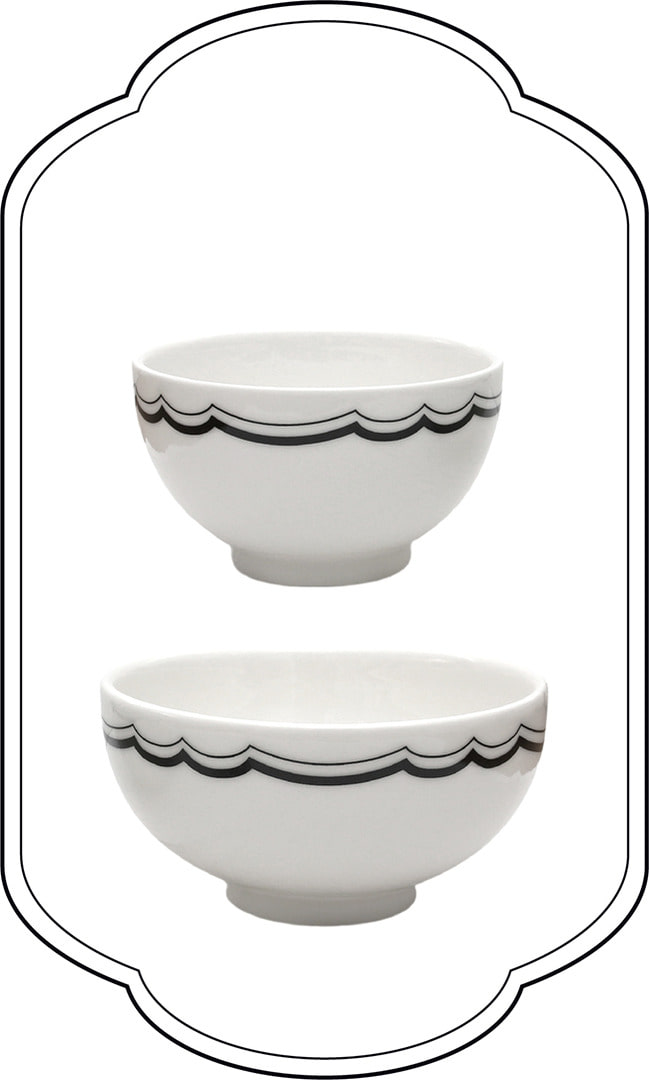 London line Lace Bowl set