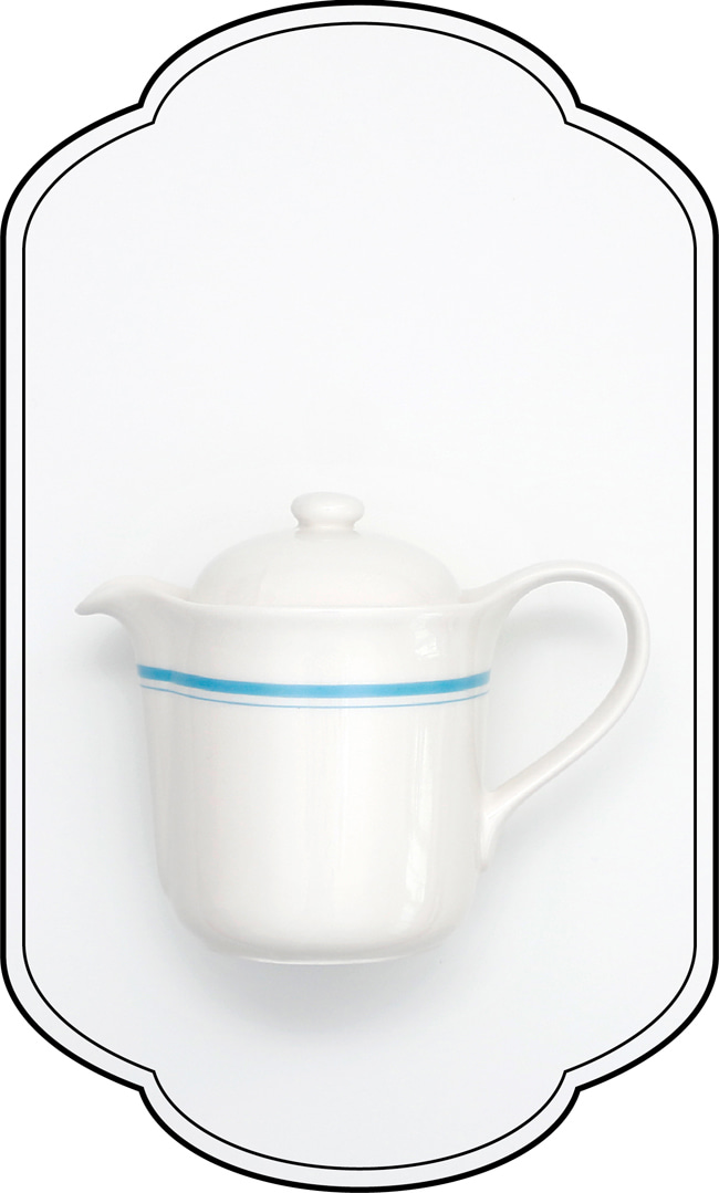 Blue Mini Teapot